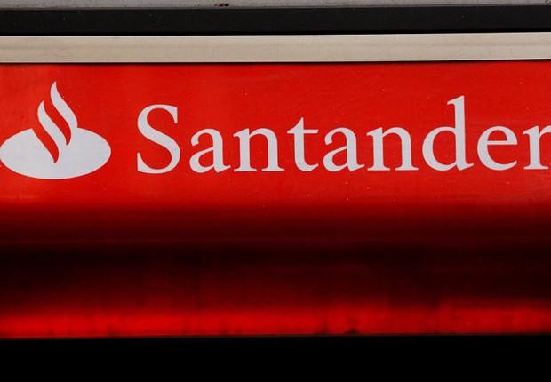 Logo do banco Santander em Londres, Reino Unido   (Foto: Luke MacGregor/Reuters)