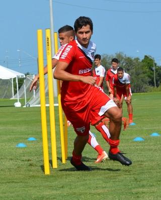 ganso treino são paulo orlando (Foto: Site Oficial/saopaulofc.net)