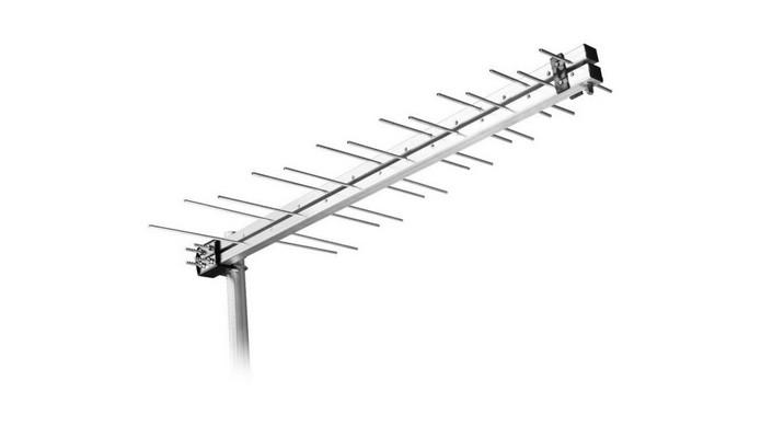 Antena externa Log Periódica LU-14 (Foto: Divulgação/Aquário)