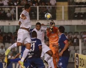 Henal, goleiro, São Bento, Santos, Vila Belmiro (Foto: Jesus Vicente / EC São Bento)