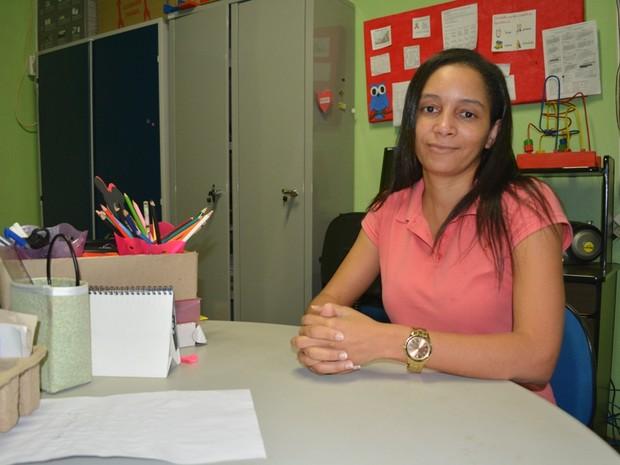Iliene diz que mora em Ariquemes há 15 anos e não quer se mudar (Foto: Jonatas Boni/ G1)