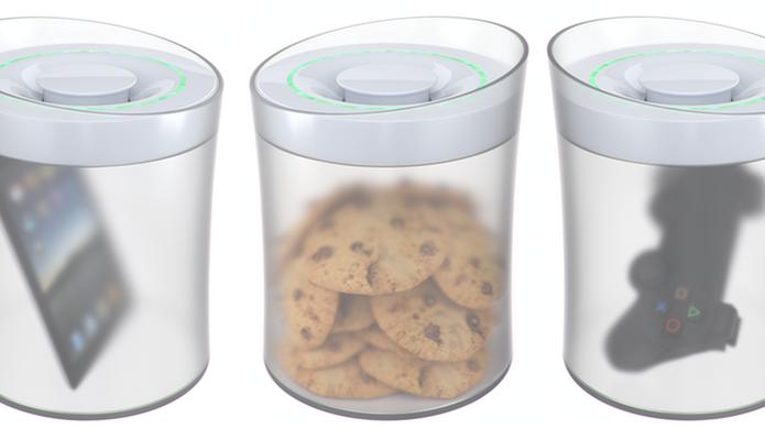 KSafe tranca comidas e objetos e só libera quando usuário consegue cumprir alguma meta (Foto: Divulgação/Kickstarter) (Foto: KSafe tranca comidas e objetos e só libera quando usuário consegue cumprir alguma meta (Foto: Divulgação/Kickstarter))