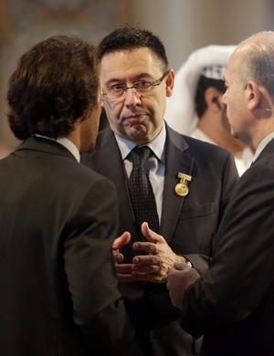 Josep Maria Bartomeu presidente Barcelona Dubai (Foto: EFE)