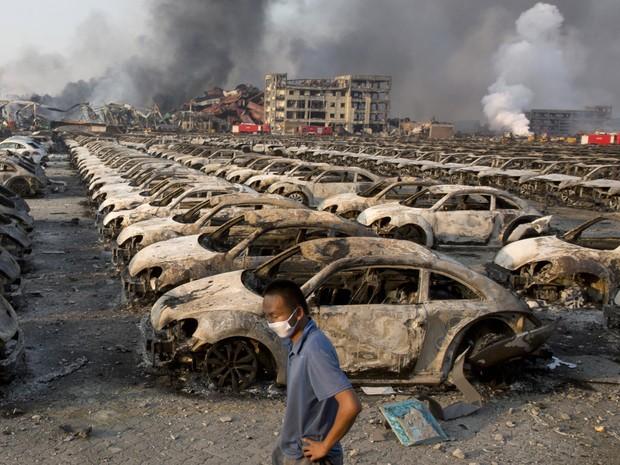 Explosões ocorreram na quarta-feira (Foto: AP Photo/Ng Han Guan)