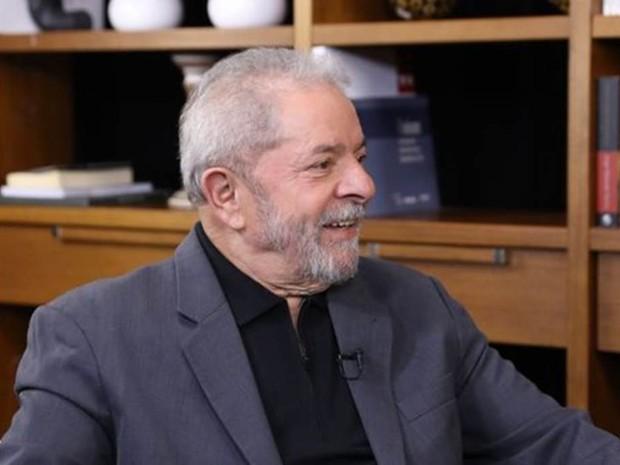 O ex-presidente Luiz Inácio Lula da Silva, em entrevista à BBC (Foto: Ricardo Stuckert/Instituto Lula)