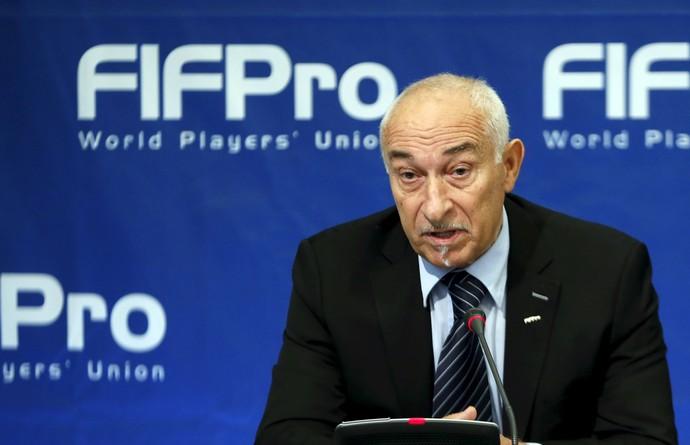 Philippe Piat, Presidente da FIFPro (Foto: Agência Reuters)