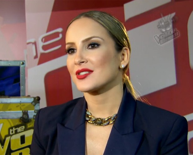 Claudia Leitte enche Carlinhos Brown de elogios (Foto: The Voice Brasil)