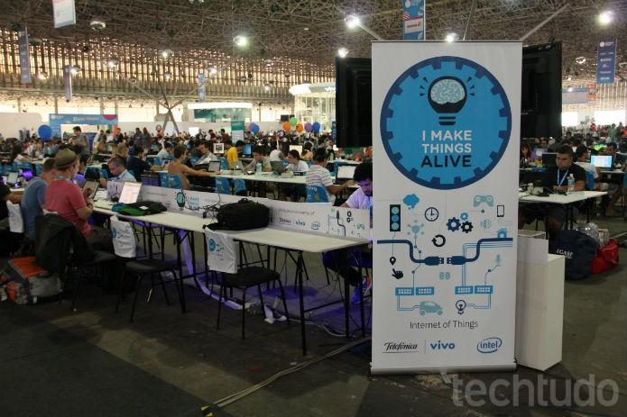 No final, tudo isso é que dá vida ao evento (Foto: TechTudo/Renato Bazan)
