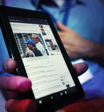 Kindle Fire (Foto: getty images)