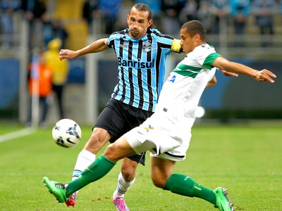 Barcos jogo Grêmio x Coritiba (Foto: Lucas Uebel / Site Oficial do Grêmio)
