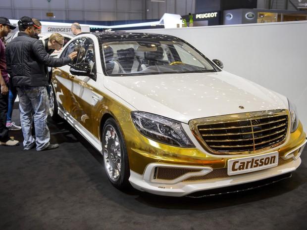 carro de ouro (Foto: Fabrice Coffrini/AFP)