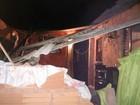 Mulher fica ferida após telhado de casa desabar em Montes Claros