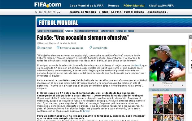 Falcão; Bahia; fifa (Foto: Reprodução/Fifa)