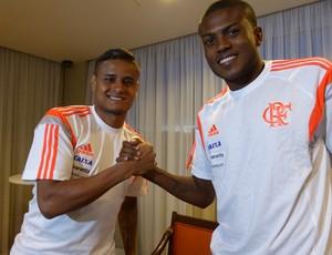 Everton e Marcelo são amigos inseparáveis (Foto: Cahê Mota)