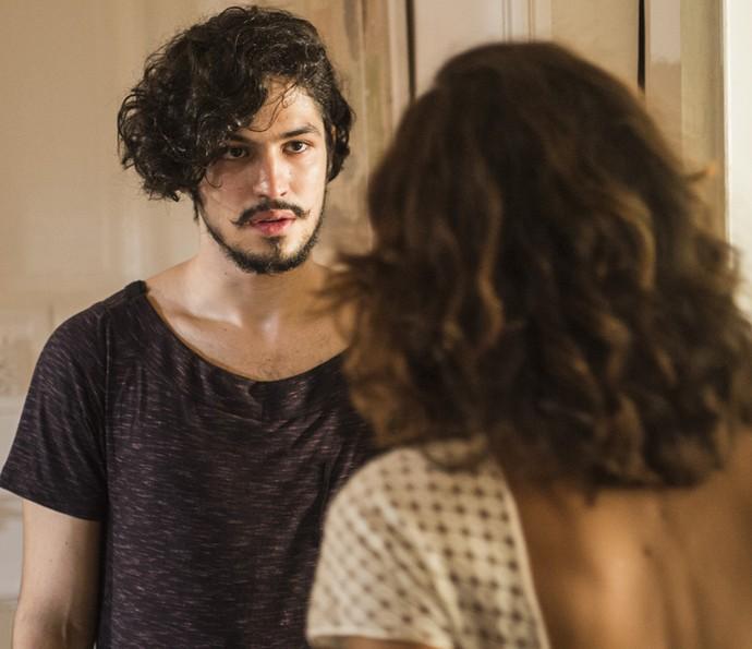 Gabriel Leone viverá Miguel, filho de Tereza, personagem de Camila Pitanga, em 'Velho Chico' (Foto: Caiuá Franco/ Globo)