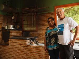 Seu Dario, dono da pousada - Rio Doce - fotógrafos Pouso Alegre, Poços de Caldas (Foto: Rafael Simioni / Arquivo pessoal)