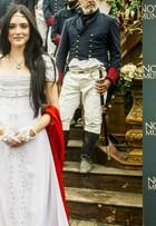 Novo Mundo: Compare o elenco da novela com e sem a caracterização