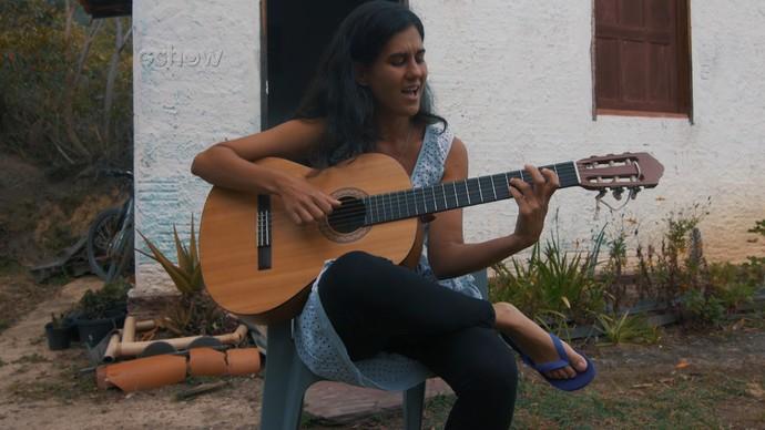 Ana Tomich, da série 'Mulheres Viajantes': do Capão para o mundo (Foto: TV Bahia)