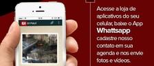 Envie vídeos e fotos para Whatsapp do G1 (Adelmo Paixão)