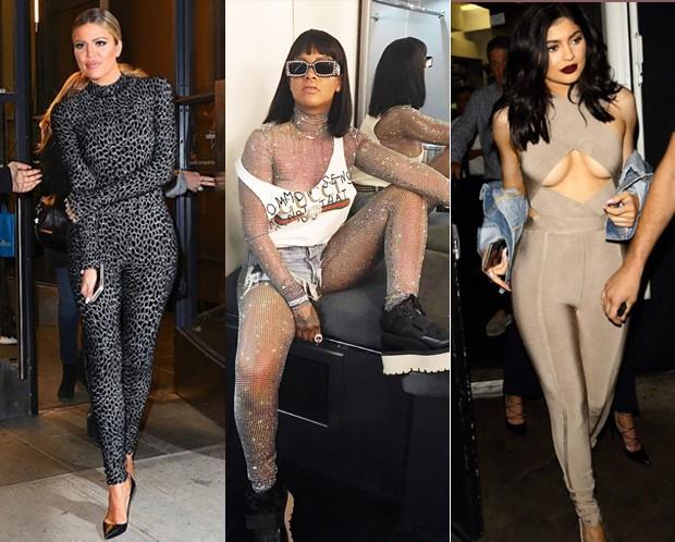 Khloe Kardashian, Rihanna e Kylie Jenner são algumas das adeptas (Foto: Reprodução / Instagram)
