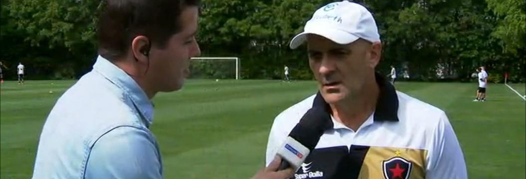 Itamar Schülle projeta jogo contra o Palmeiras e valoriza o atual momento do Belo na Copa do Brasil