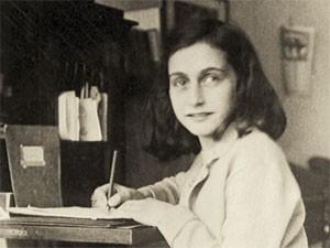 A jovem alemã Anne Frank (Foto: Divulgação/Anne Frank House)