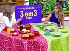 Comer de 3 em 3 horas ou fazer 3 refeições ao dia? Bem Estar explica
