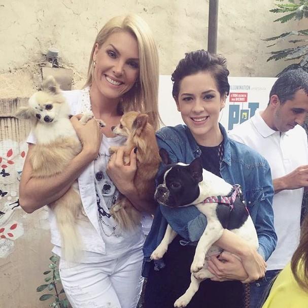 Ana Hickmann e Sophia Abrahão  (Foto: Reprodução/Instagram)