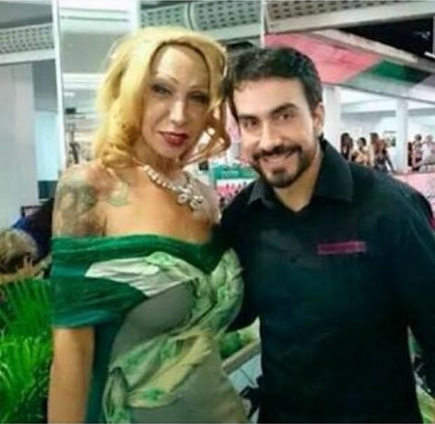 Luana Muniz e Padre Fabio de Melo  (Foto: Instagram / Reprodução)