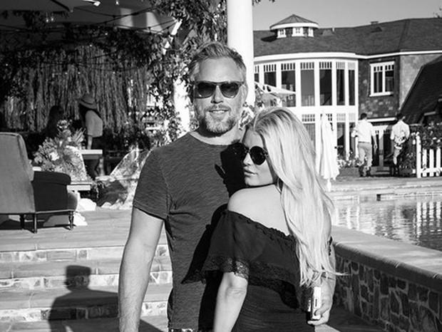 Jessica Simpson e Eric Johnson (Foto: Reprodução)