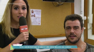Tatá Werneck surpreende Joaquim Lopes e apronta nos bastidores de 'Haja Coração'