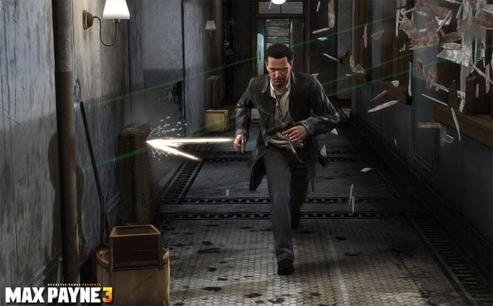 Max Payne 3 tem cara e orçamento de filme de ação hollywoodiano (Foto: Divulgação)