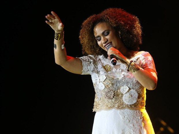 Mariene de Castro em show em São Paulo (Foto: Manuela Scarpa/ Brazil News)