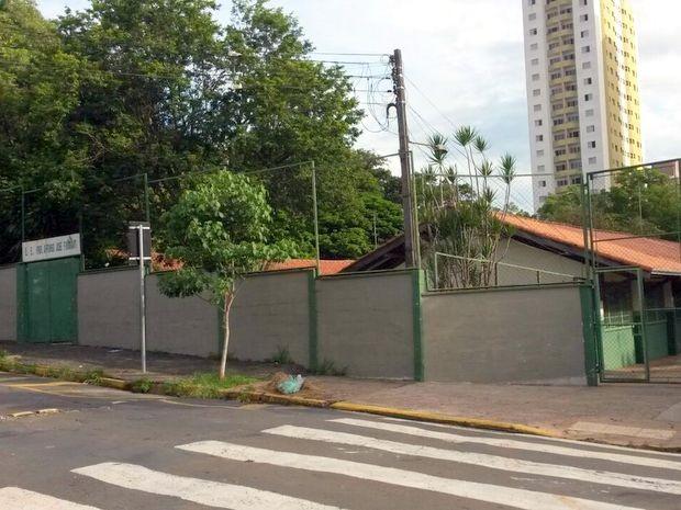 Escola Afonso José Fioravanti, em Piracicaba (Foto: Suzana Amyuni/G1)