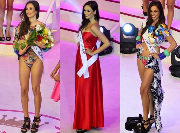 Candidata do Méier ficou em 3º lugar no concurso (Foto: Roberto Teixeira / EGO)