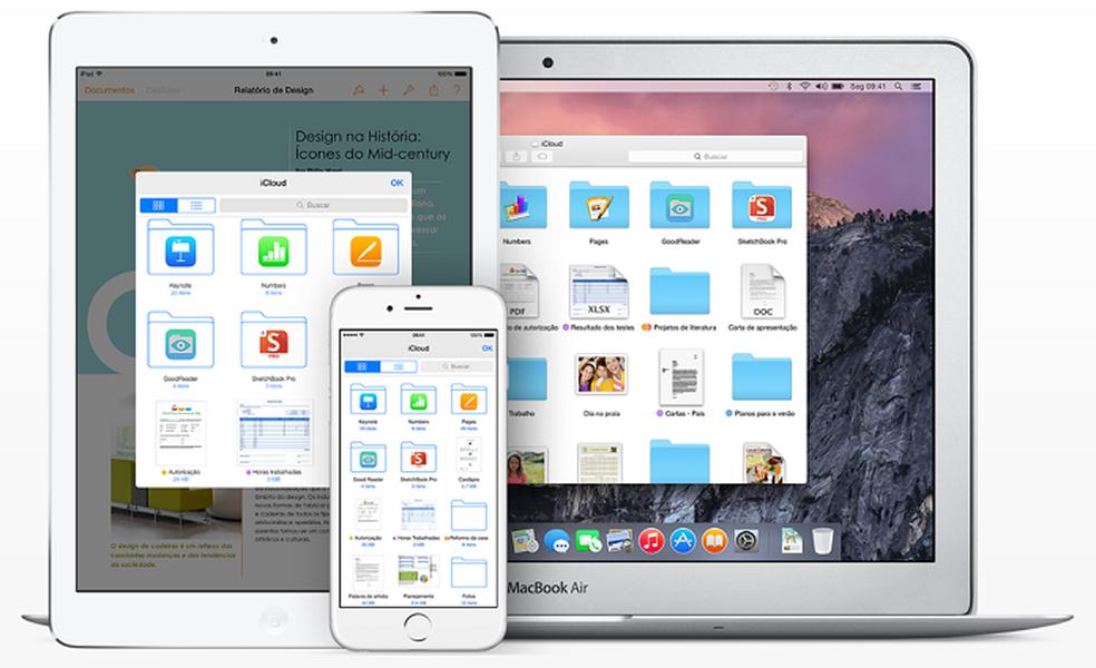 Apple renova preços do iCloud (Foto: Divulgação/Apple)