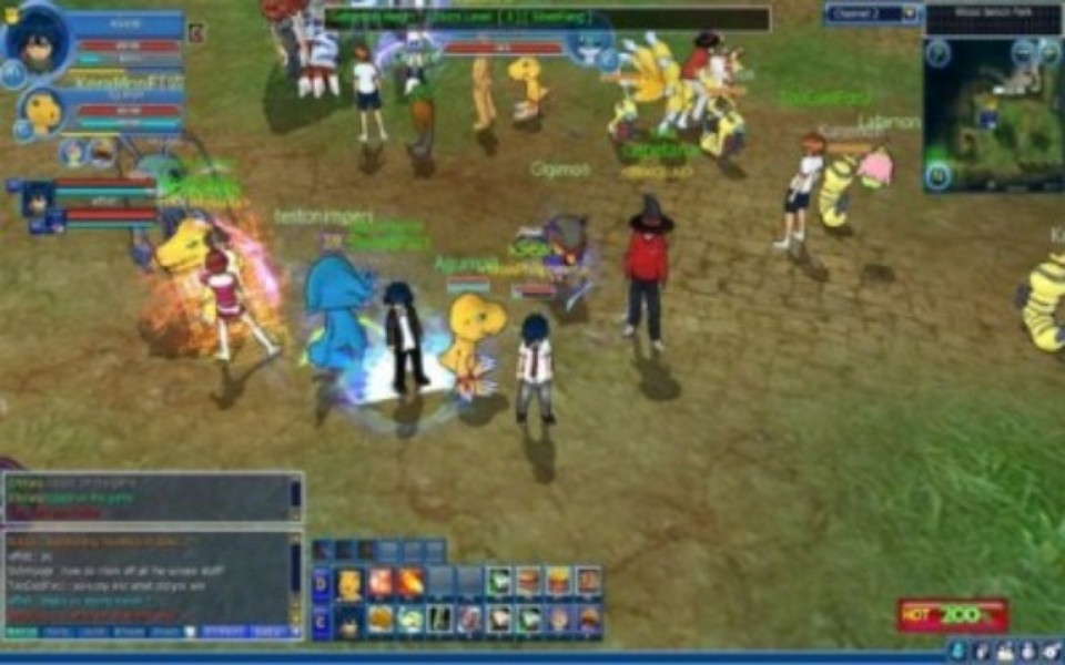 how to play digimon masters online