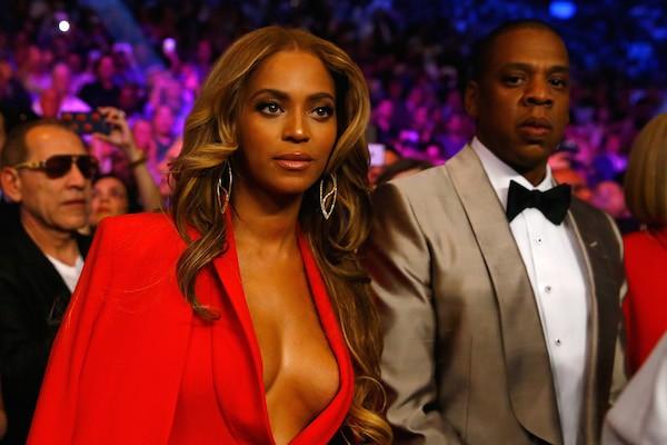 A cantora Beyoncé e o rapper Jay-Z (Foto: Getty Images)