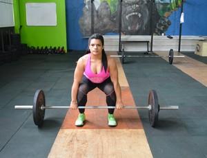 Luana, atleta de Porto Velho ficou com a 19ª posição no Monstar Games (Foto: Matheus Henrique)