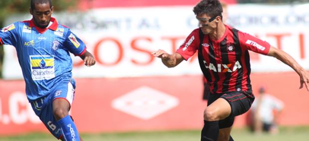 Atlético-PR e Cianorte pelo Campeonato Paranaense (Foto: Divulgação/Site oficial do Atlético-PR)