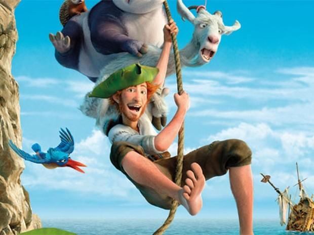 Animação 'As Aventuras de Robinson Crusoé' (Foto: Reprodução)