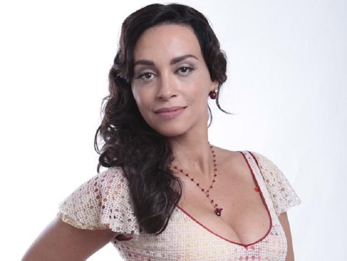 Suzana Pires viveu a misteriosa Glorinha em 'Gabriela' (Foto: Gabriela/TV Globo)