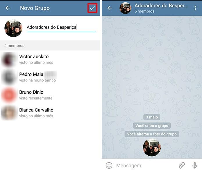 quantas pessoas cabem no grupo do whatsapp