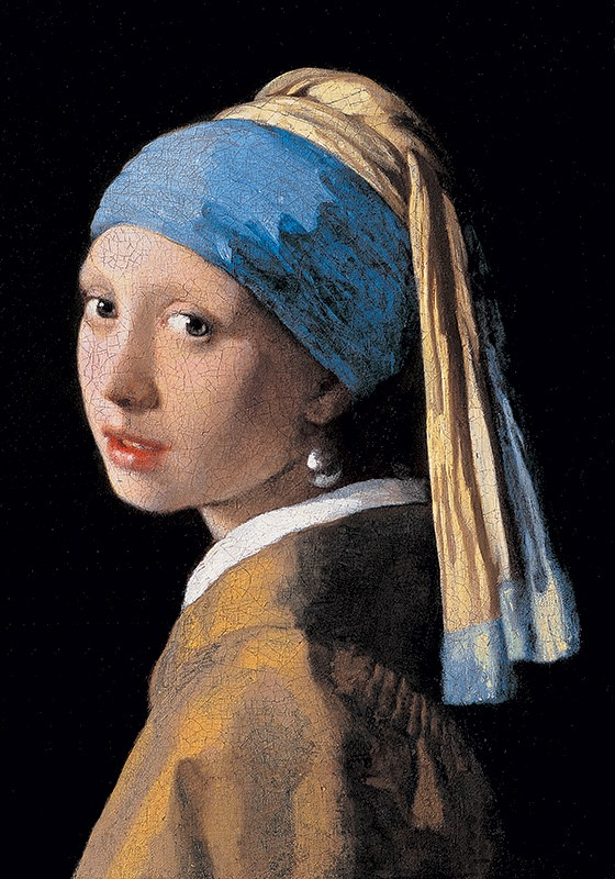 APROPRIAÇÕES Moça com brinco de pérola (1665), pintura do holandês Johannes Vermeer. O turbante é usado há séculos em regiões da África, do Oriente Médio e do Oriente (Foto: Electa/Leemage/AFP)