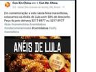 Restaurante pede desculpas após promoção com 'anéis de lula' no RN