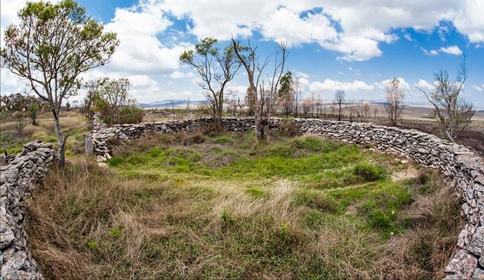 O Curral de Pedras é uma das atrações do alto do Parque Nacional da Serra da Canastra (Foto: Divulgação)
