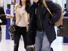 George Clooney viaja com a mulher, Amal Clooney