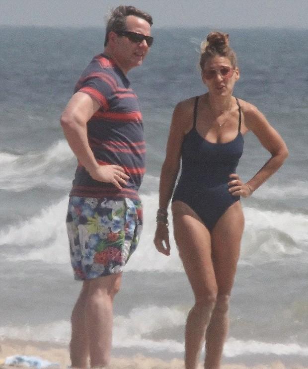 sarah jessica e o marido (Foto: grosby group)