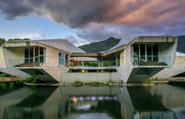 Casa futurista inspirada em star wars custou 15 milh es de for Casas futuristas