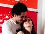Vinícius de Oliveira e a mulher, Sara Antunes, esperam um bebê